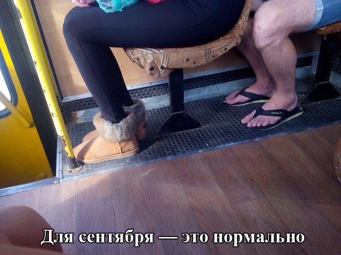 """Смешное фото """"обувь сентябрь"""""""