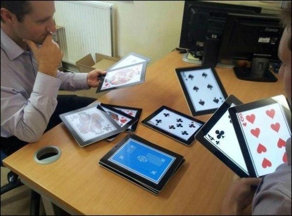 Игра в карты прикол