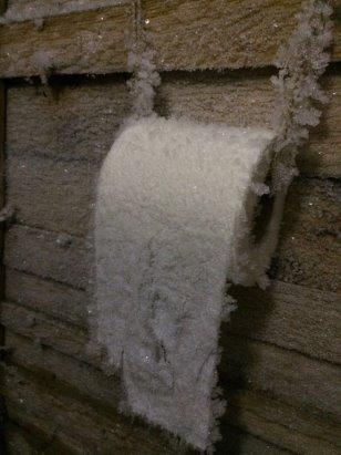 """Смешное фото Сибирская туалетная бумага """"Зимняя свежесть"""""""