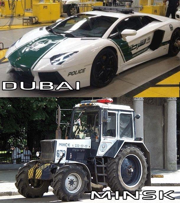 Дубаи vs Минск