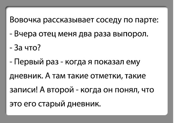 Анекдот Дневник