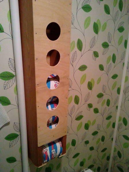 Смешное фото Запас туалетной бумаги